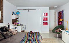 Apartamento dúplex com jeitão de galeria de arte - Casa