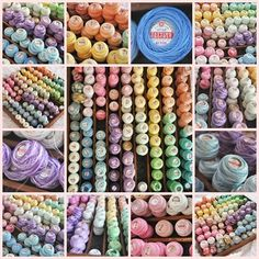 Pearls and Lace Thursday #89 Rainbow of Thread!