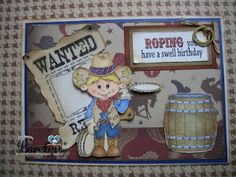 Lil Billy, wild west accessories, sentiment  from www.digitaldelightsbyloubyloo.com