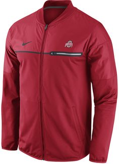 6460bc4267c Nike Men s Ohio State Buckeyes Elite Hybrid Jacket Men - Sports Fan Shop By  Lids - Macy s