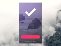 Login & Home Screen / Anton Aheichanka