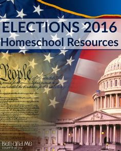 A comprehensive list of   resources to teach your children and homeschool students about the Elections process.