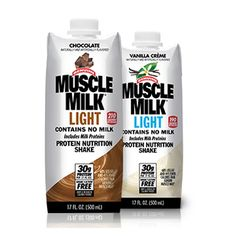 Cytosport™ Muscle Milk Light Ready-To-Drink Protein Nutrition, Nutrition Shakes, Milk Protein, Protein Shakes, Muscle Milk Light, 30 Grams Of Protein, Drink Containers, Protein Supplements, Coconut Water