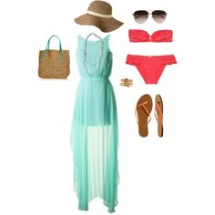 This WILL be my beach outfit for this summer :)