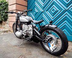 Hammer Kraftrad: Hammer Kraftrad BMW R80/7 Bobber - PART1 Bmw Classic, Classic Bikes, Bmw 100, Street Motorcycles, Bmw Motorbikes, Harley Davidson, Bobber Style, Motorcycle Trailer, Bobber Bikes