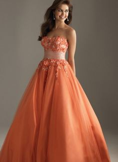 2011 Style Empire Strapless Sleeveless Floor-length Tulle  Bridesmaid / Evening Dresses / Prom Dresses