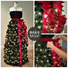 Mannequin Tree Tutorial sold by muse . Shop more products from muse on Storenvy, the home of independent small businesses all over the world. Mannequin Christmas Tree, Dress Form Christmas Tree, Christmas Window Display, Holiday Tree, Xmas Tree, Christmas Holidays, Holiday Decor, Christmas Tree Decorations, Christmas Wreaths