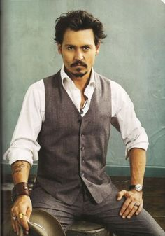 Johnny Depp- The only man who can still manage to be hot while dressed as a pirate, vampire, scissor-handed freak, albino factory owning recluse, the list goes on and on