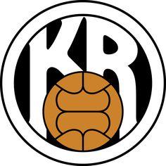 KR Reykyavik Soccer Logo, Football Soccer, Soccer Teams, Team Mascots, Great Logos, Team Logo, Sports Logos, Badges, Iceland