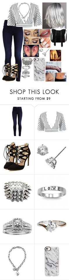 """Untitled #3296 - Outfit of the Day - 7/3/17"" by nicolerunnels ❤ liked on Polyvore featuring Chanel, J.A.K., Bony Levy, Fantasy Jewelry Box, A.Jaffe, GUESS, Casetify and RAJ"