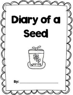 """FREE! This is a great follow up activity to planting seeds. Our class loves the Diary of a... series by Doreen Cronin so this was a perfect writing activity for us! Students will first brainstorm some ideas of what their seed or plant is thinking. Then students can write diary entries from the point of view of their seed or plant! There are two versions included: one with the word """"seed"""" and another with """"plant."""""""