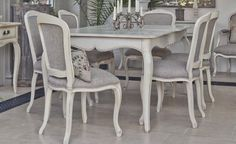 FRENCH COUNTRY DINING SET - Conservatory Furniture From Interiors By Vale