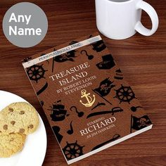 A fantastic 'novel' gift for any bookworm you may know, this personalised classic features the character Jim Hawkins which can be personalised with up to 12 characters in length (please note this is a gender specific role). Personalized Gift Cards, Personalized Christmas Gifts, Personalised Childrens Books, Jim Hawkins, Classic Literature, Character Names, Treasure Island, Book Worms, Novels