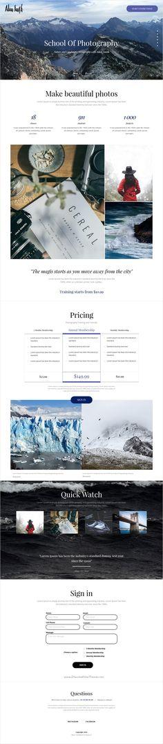 Titan is wonderful premium 5 in 1 #Muse #template for minimalist #portfolio…