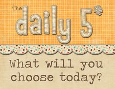 For those teaching upper grades and wanting to use Daily 5 here is a header sign for your bulletin board created by Will Teach for Cupcakes. Like w...