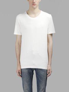 MAISON MARTIN MARGIELA Maison Margiela Men'S 3 Pack White T-Shirts. #maisonmartinmargiela #cloth #t-shirts
