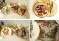 Новогодние блины! Винтажные елочные игрушки. Украшения для ёлочки. - изделия в винтажном стиле, авторские новогодниеи рождественские подарки. МегаГрад - мега-портал авторской ручной работы