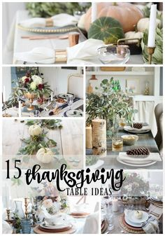 15 Thanksgiving Tabl