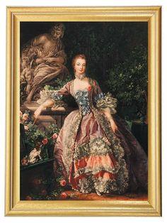 Madame Pompadour.  Jeanne-Antoinette Poisson, quien llegó a ser una influyente cortesana de Versalles. Su especialidad erótica: Flagelar a sus clientes y atarlos con arneses. Era lo que hoy se llama una dominatrix. El rey Luis XV se prendó de ella en sus visitas al salón donde la chica ejercía las artes del castigo. Lucha de arpías: Ya en palacio, luchó por los favores del rey con su otra favorita, la duquesa de Chateauroux.