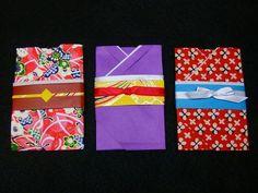 着物のぽち袋(折り紙で作る)の作り方|折り紙|紙小物・ラッピング|ハンドメイド・手芸レシピならアトリエ