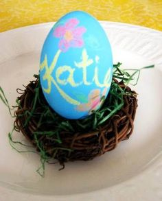 10 DIY Ways to Decorate Your Easter Eggs - Neatorama
