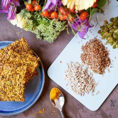 Spis magen flat knekkebrød - Fitfocuse Low Fodmap, Korn, Broccoli, Grains, Food And Drink, Gluten Free, Healthy Recipes, Eat, Health Recipes