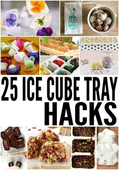 Good Pics 25 Money Saving Uses For Old Ice Cube Trays Thoughts Just about the most essential difficulties with the cooking is usually food storage area methods. Ice Cube Trays, Ice Cubes, Ice Tray, Ice Molds, Inexpensive Gift, Food Hacks, Hacks Diy, Easy Hacks, Diy Food