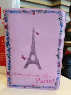 my newest passport holder. another paris thingeeey! New Passport, Collections, Paris, My Love, How To Make