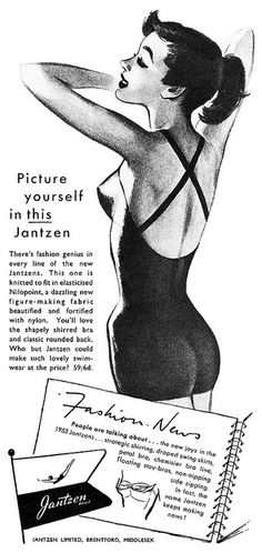 Jantzen advertisement. by totallymystified, via Flickr