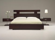 Contemporary Headboard Ideas for your Modern Bedroom Bed headboard design, Bedroom set designs 10 Rustic and Modern Wooden Bed Frames for . Minimalist Bedroom Design, Bedroom Furniture Design, Bed Furniture Design, Bed Design, Bed Design Modern, Contemporary Bedroom Sets, Bedroom Bed Design, Bed Headboard Design, Modern Style Bedroom