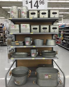 For All Things Galvanized Go To Wal Mart And Check Out This Awesome  Collection From · Galvanized DecorGalvanized BucketsGalvanized ...