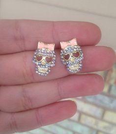 Skull Earrings on Luulla