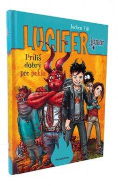 Lucifer junior - Príliš dobrý pre peklo Comic Books, Fantasy, Comics, Cover, Art, Art Background, Kunst, Cartoons, Fantasy Books