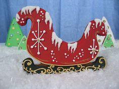 Christmas sleigh cookie