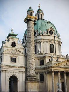 https://flic.kr/p/s661RW | Karlskirche (St. Charles's Church), Vienna