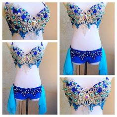 Home — Electric Laundry Custom Dance Costumes, Belly Dance Costumes, Rave Costumes, Cool Costumes, Costume Ideas, Decorated Bras, Bling Bra, Crazy Dresses, Really Cute Outfits