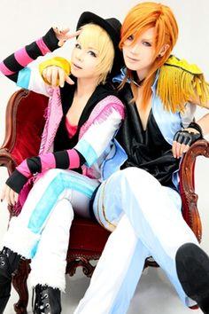 Uta no Prince-sama- Ren & Syo Cosplay