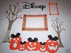 Must do page for Mickey's Not-So-Scary Halloween