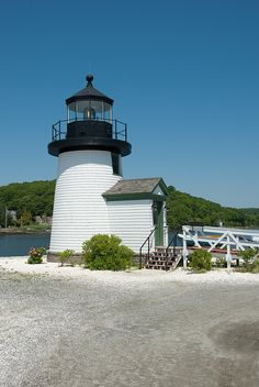 a little Lighthouse by Tattooed JJ, via Flickr IN MYSTIC CT