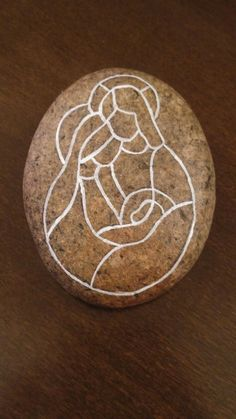 Christmas Rock, All Things Christmas, Christmas Crafts, Christmas Decorations, Christmas Ornaments, Pebble Painting, Pebble Art, Stone Painting, Diy Painting