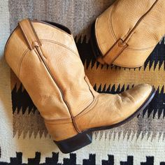 Vintage size 7 M runs small fits 6 to 6.5 buttery by romaarellano