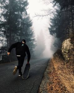 Skateboard and Nature Photography in Slovenia