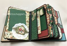 BBS Christmas Carol Mini Album page 2