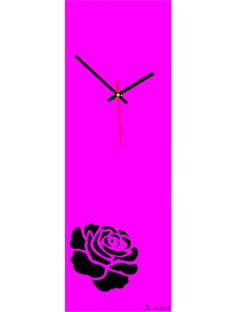 Container, Clock, Wall, Home Decor, Pink, Glamour, Stylish Watches, Rhinestones
