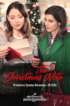 "Its a Wonderful Movie - Your Guide to Family Movies on TV: ""The Christmas Note"" .- Its a Wonderful Movie - Your Guide to Family Movies on TV: ""The Christmas Note"" on Hallmark Movies & Mysteries- Films Hallmark, Hallmark Holiday Movies, Hallmark Weihnachtsfilme, Xmas Movies, Best Christmas Movies, Hallmark Holidays, 2015 Movies, Hallmark Channel, Family Movies"