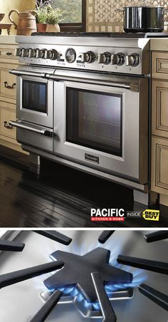 Looking for the latest kitchen  innovations? Check out Thermador premium appliances. They've got innovative technologies like the exclusive Star Burner, with professional-level finishes and exceptional performance. They'll change the way you cook. Create your professional-grade kitchen at Pacific Kitchen & Home inside Best Buy.