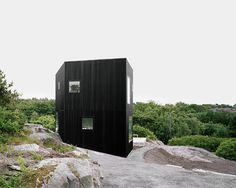 House Tumle Located outside Gothenburg, Sweden, House Tumle – designed by Johannes Norlander Arkitektur Black Architecture, Interior Architecture, Scandinavian Architecture, Architecture Board, Commercial Architecture, Contemporary Architecture, Scandinavian Style, Interior Design, Minimalist Home