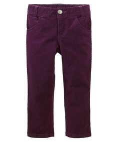 Another great find on #zulily! Purple Corduroy Pants - Infant, Toddler & Girls by Tea #zulilyfinds