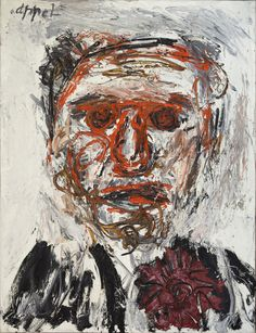 Risultati immagini per karel appel portrait k Tachisme, Classical Realism, Neo Expressionism, Frank Stella, Dutch Painters, Dutch Artists, Naive Art, Outsider Art, Life Drawing
