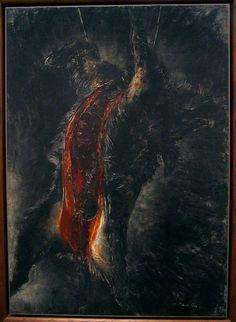Jean Fautrier – Le grand sanglier noir (1926) mamvpp